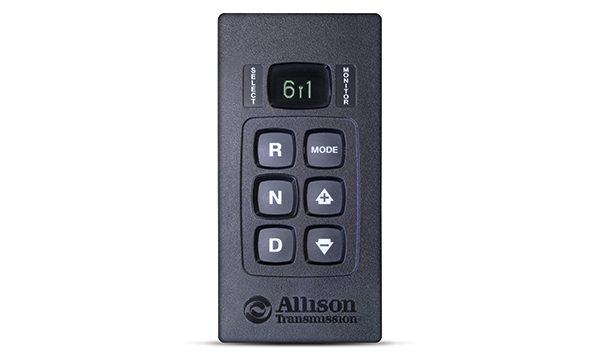 Allison Push Button Shift Pad