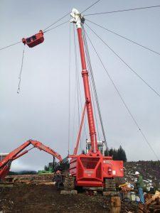 Oregon-Logging-ConvenUS Transmissions-Madill-172-Yarder