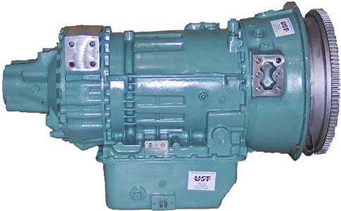 On Highway Allison HT Series Model HT750DR Transmission