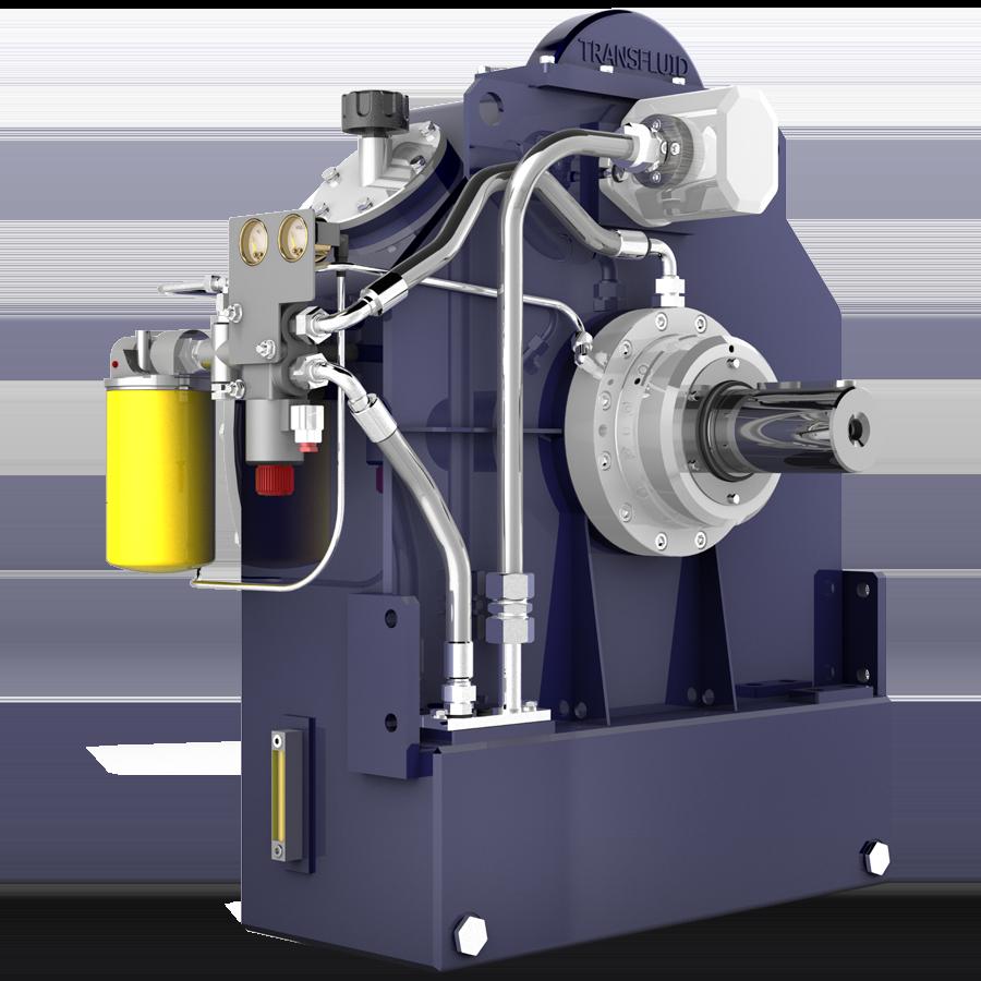 Transfluid KPTO Series Variable Fill Fluid Coupling Unit