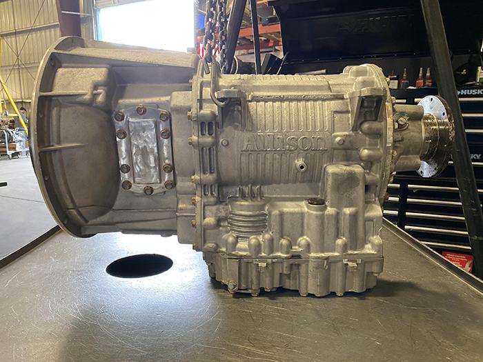 Allison 3000 Series transmission Driver's Side