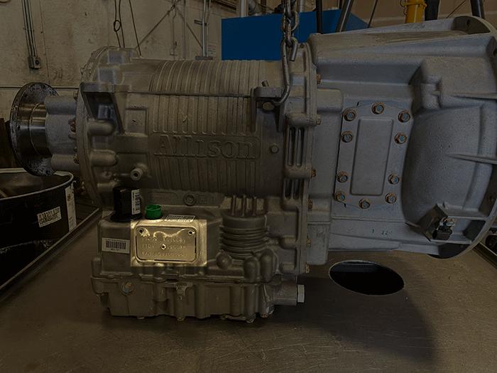Allison 3000 Series Transmission, Data Tag Highlighted