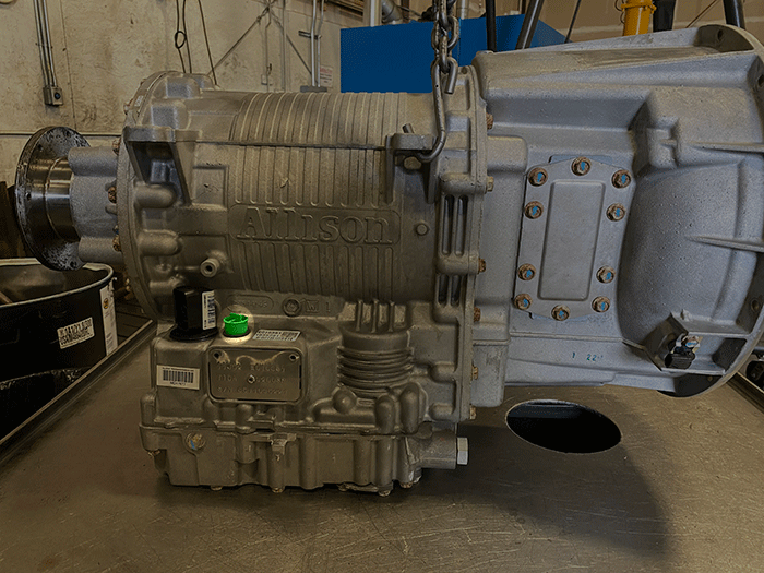 Allison 3000 Series Transmission Dipstick Hole