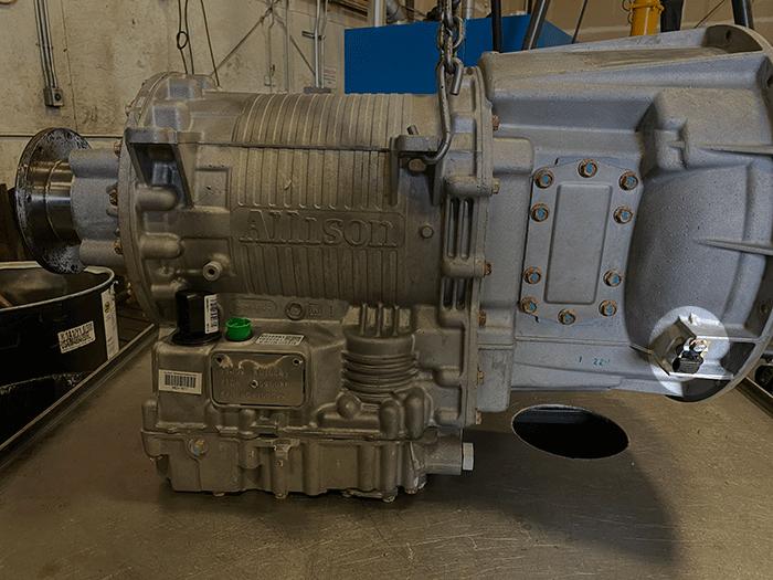 Allison 3000 Series Transmission Engine Speed Sensor Highlighted