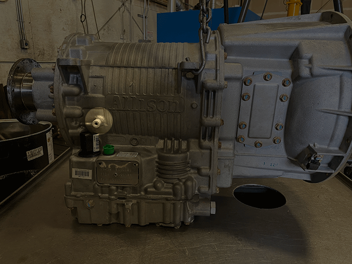 Allison 3000 Series transmission Output Fly-In
