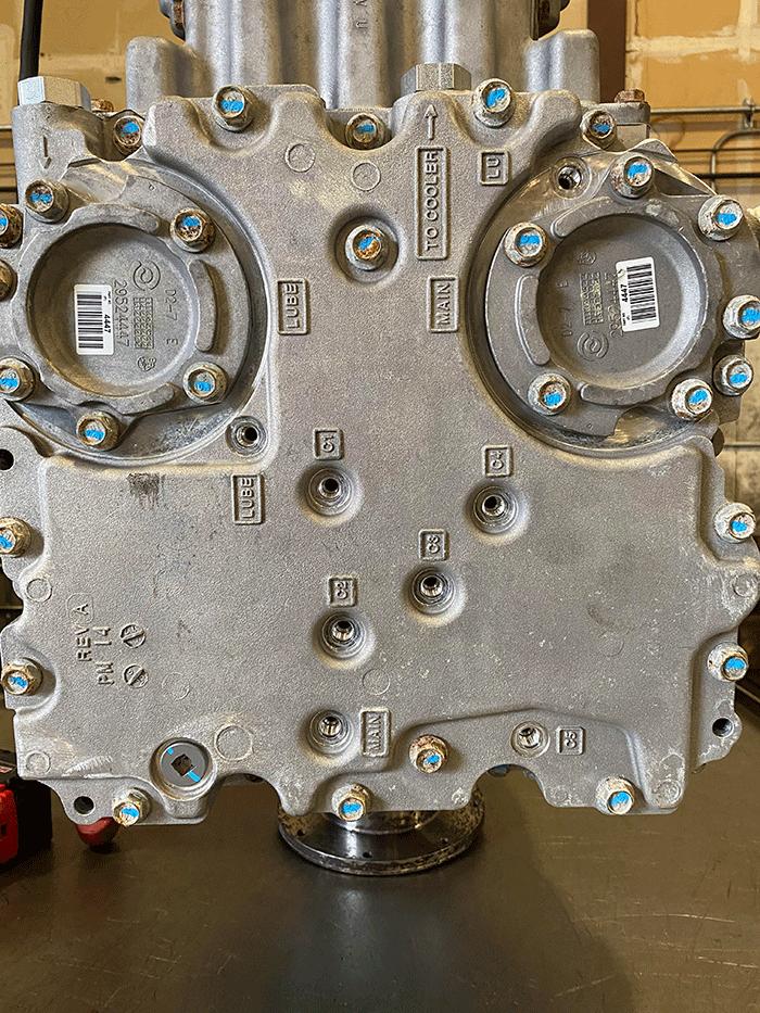 Allison 3000 Series Transmission, Underside View